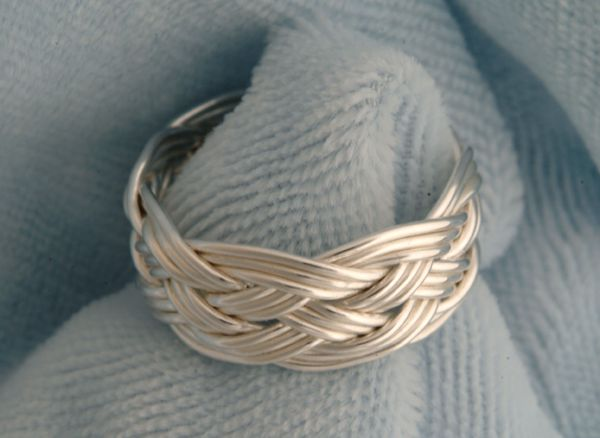Silver ring workshop example.